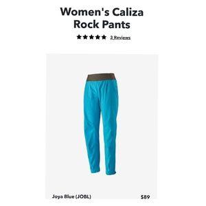 💎 Patagonia Caliza Rock Pants